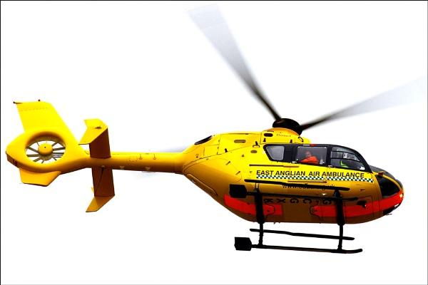 East Anglian Air Ambulance by marathonman2