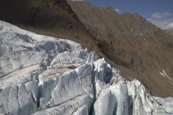 Alaska Glacier by musicianbruce