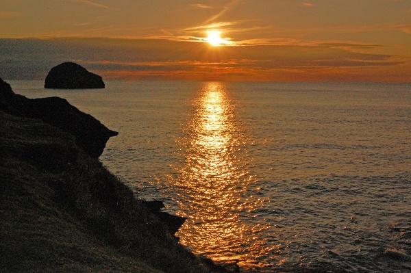 Cornish Sunset by Janice20