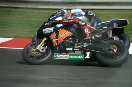 ryuichi kiyonari passing  british superbikes