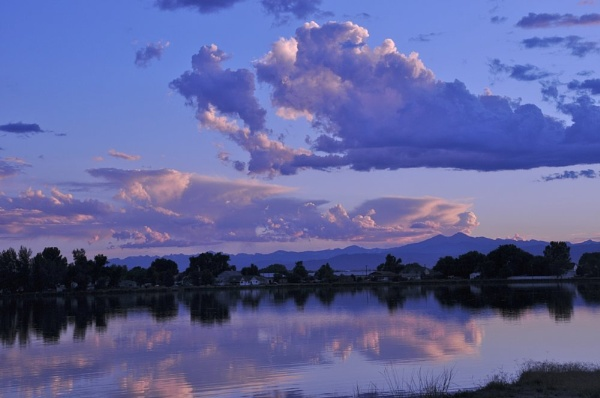 Evening sun on The Front Range by StuartDavie