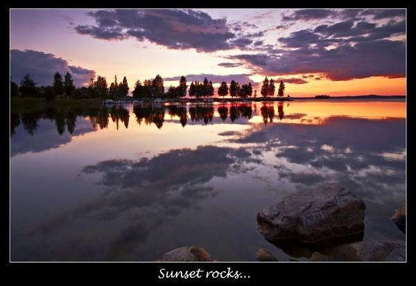 Sunset rocks... by Jou©o
