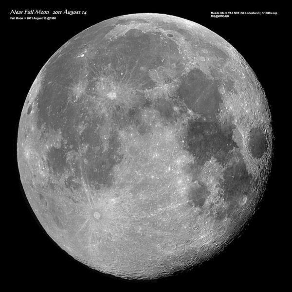full moon by nytecam