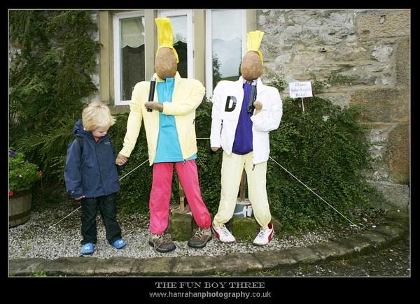 THE FUN BOY THREE by Hanners
