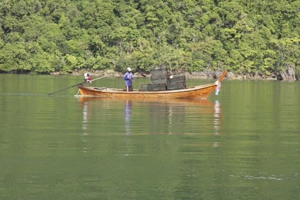 Thai fishing boat by marriedandhappy