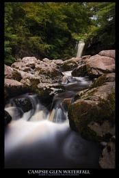 Waterfall Campsies Scotland