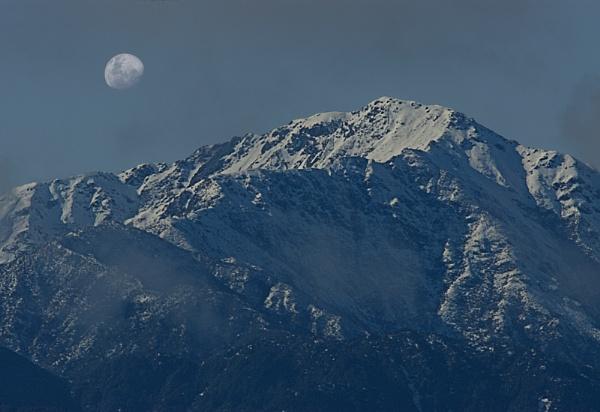 Tararua Moon by paulknight