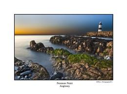 Penmon Lighthouse Sunset