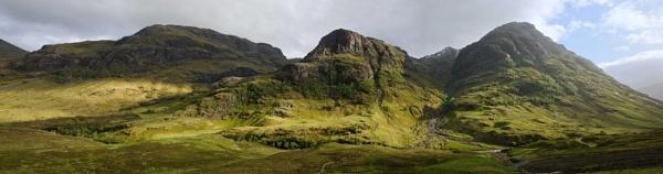 Glen Coe, Scotland by musicianbruce