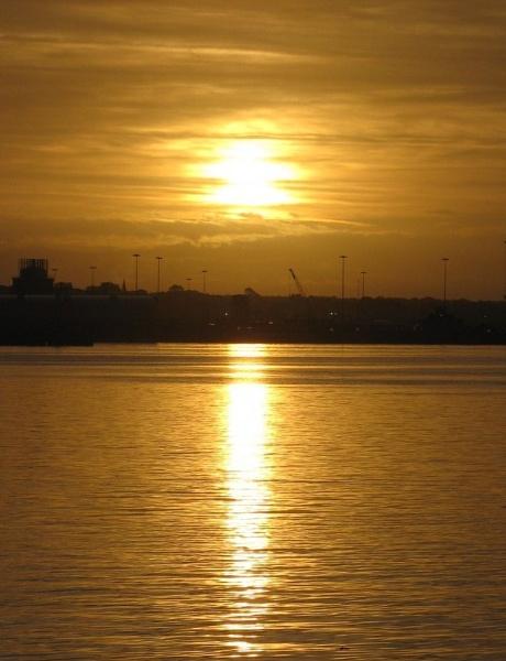 Golden Sunrise by Edben