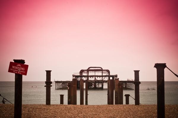 West Pier Brighton by digitalfingers