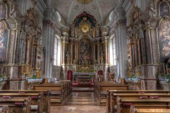 St Johann Church by david hunt