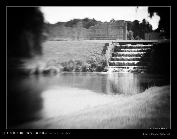 Leeds Castle Waterfall by Graham_Aylard