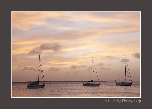 Three in a Row by CathyI