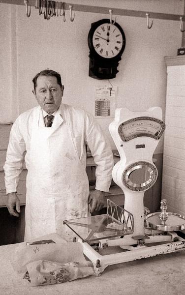 Uncle John, the village butcher by allan47