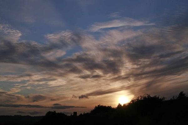 Sunset over Lydney Docks by sanroy99