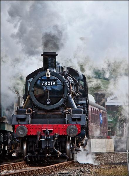 Smoke, steam and polish by shirlos