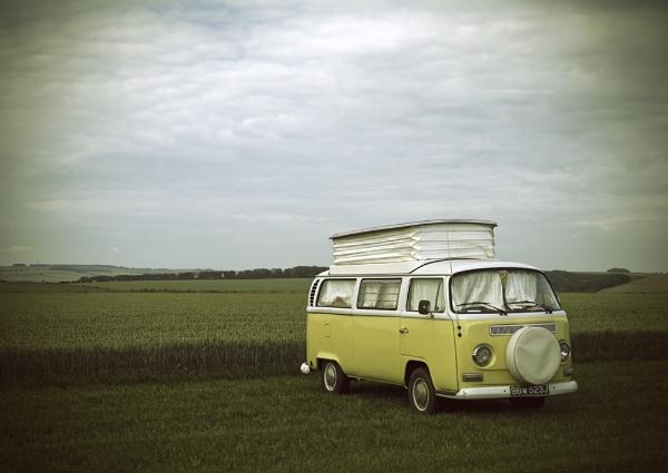 Retro Camper by Almac1961