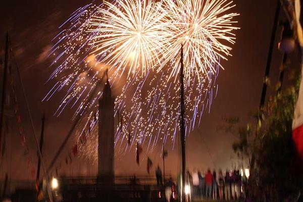 Bursledon fireworks by oaklea