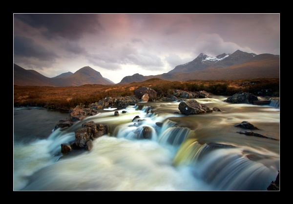 Clouds over the Cuillin by jeanie