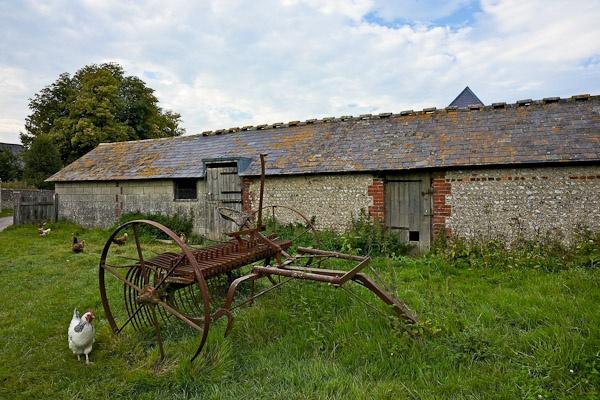 Farmyard Scene by JJGEE