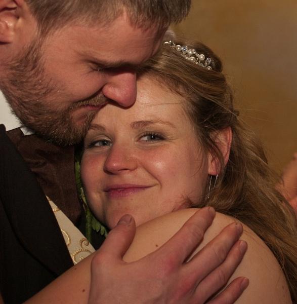 Mel and Geoff at their Wedding Reception by cbegg