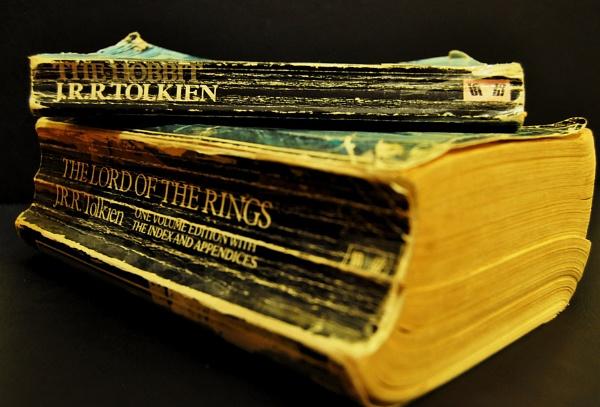 J.R.R Tolkien. In gratitude. by BarryC123