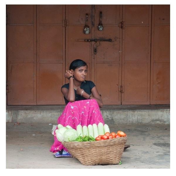 Vegetable Vendor by kishanm14