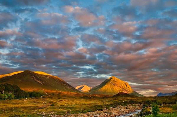View from Sligachan - Isle of Skye by stormcrowuk