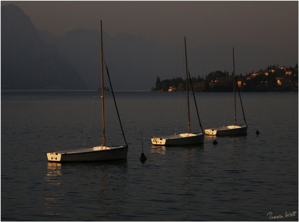 Three Boats by AshTree