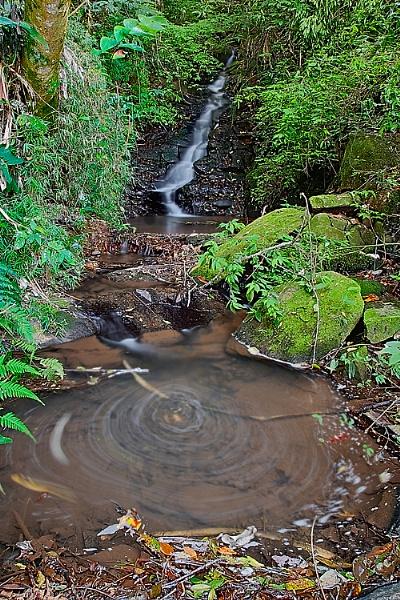 Waterfall and Whirlpool by luizdasilva