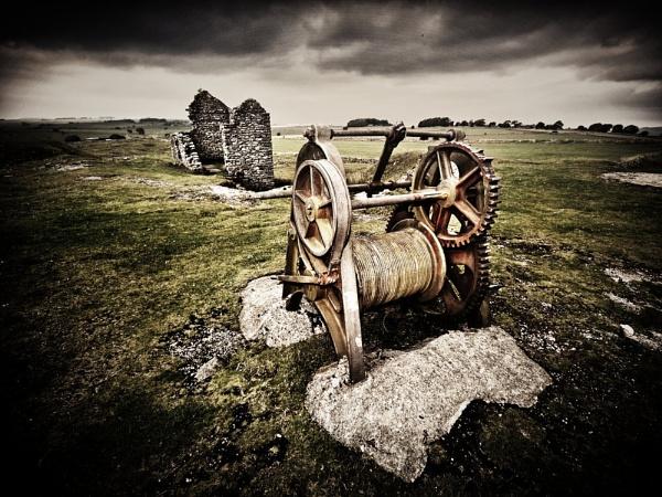 Machine At Magpie Mine by MikeMcCuskerLRPS