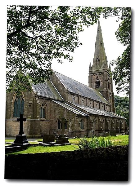 English Country Church by rhol2