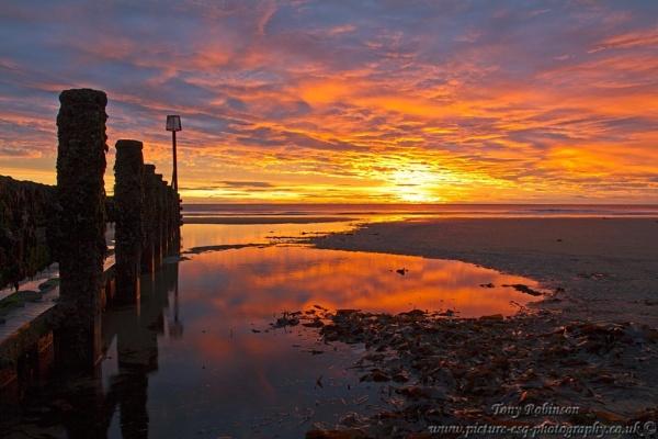 Redcar Sunrise by AR_Photography