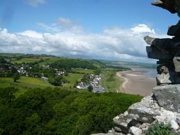 Llansteffan castle, Wales