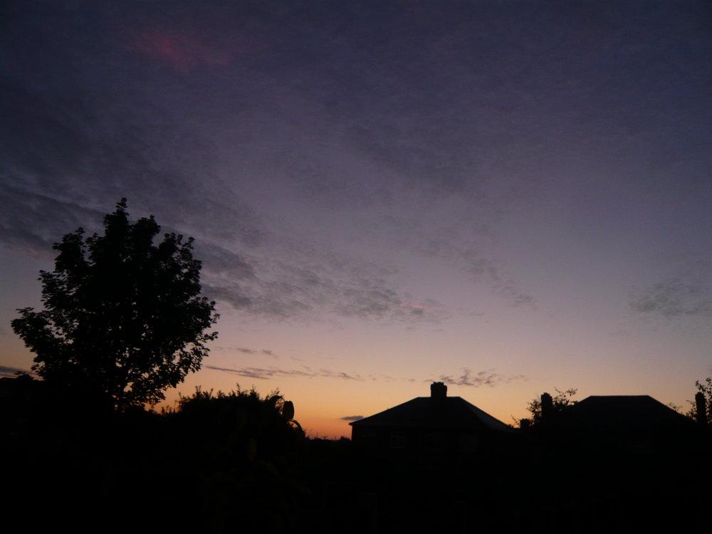 Sunrise over Wolverhampton