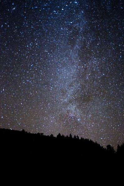 Nightsky over Dolgoch by neil john