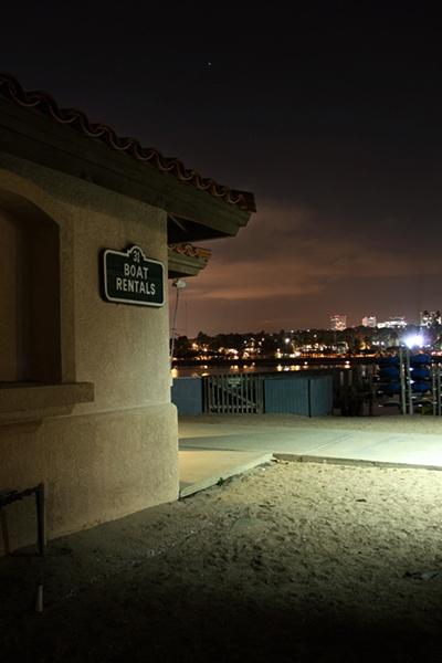 Newport Beach at Dusk by liparig