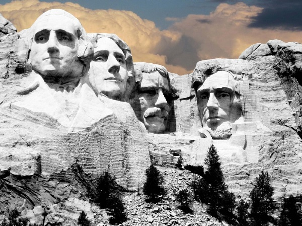 Mt Rushmore by Tosh4photos