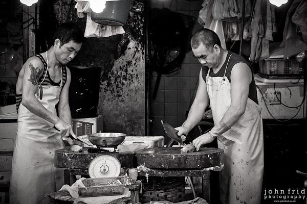 Butcher\'s Shop by John_Frid