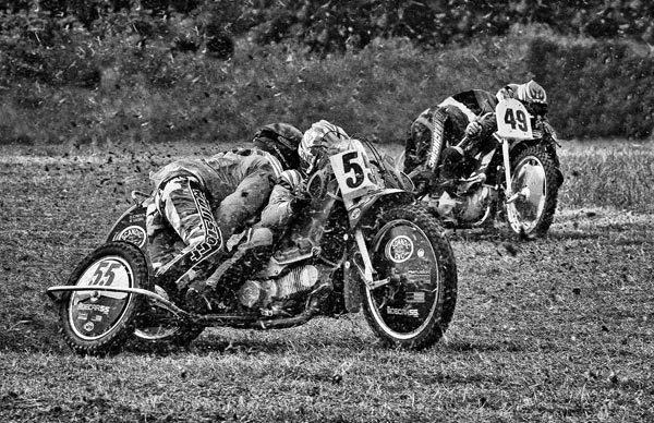 Sidecar Duel by gpwalton