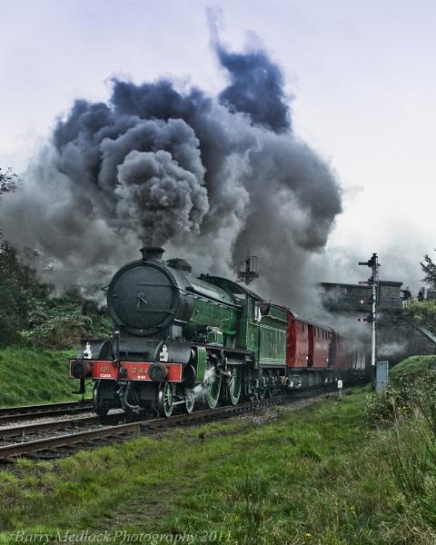 \'Morayshire\' Departs from Loghborough by Nikon_Tog