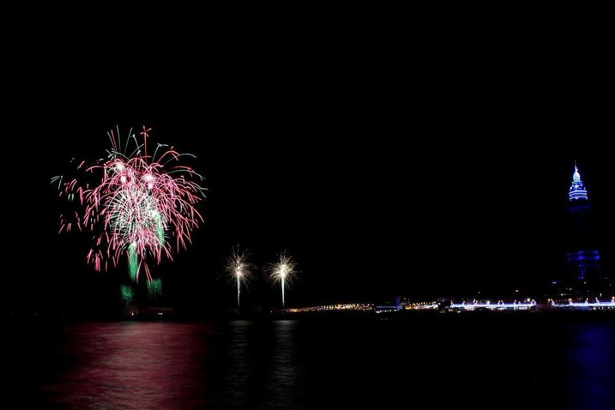 World Firework Championships Blackpool