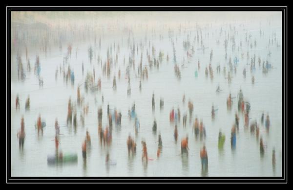 Lowry bathers by bryan26