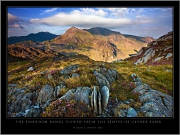 First light on the Snowdon Horseshoe