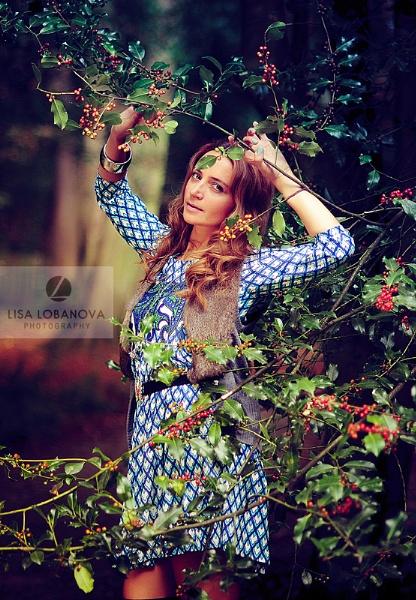 Blue dress by lisalobanova