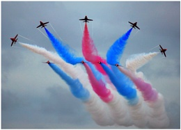 Red Arrows at Lowestoft