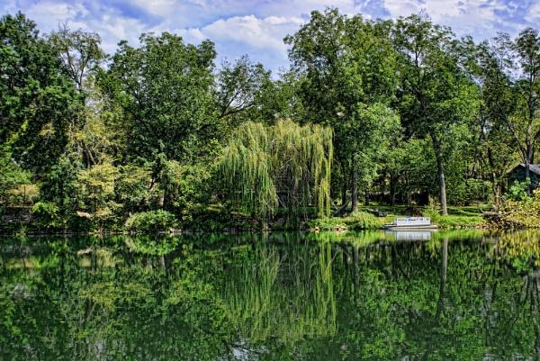 River Reflection by RickFreid