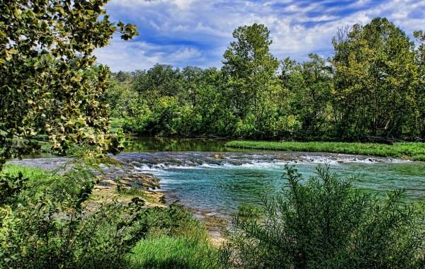 River Rapids by RickFreid