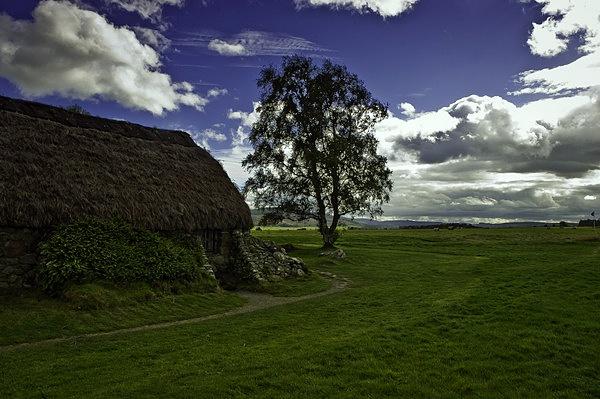 Leanach farmhouse Culloden by CorporalClegg
